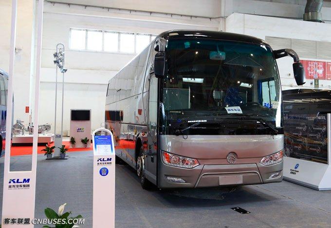 金旅凯歌参展2016北京国际道路运输展
