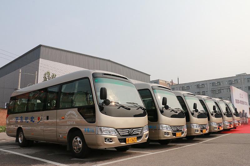 安凯宝斯通K7批量交付北汽集团