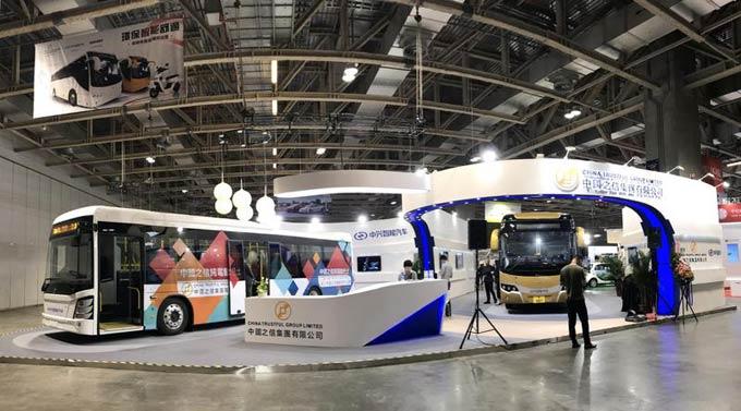 中兴公司为澳门市场定制的两款纯电动城市大巴
