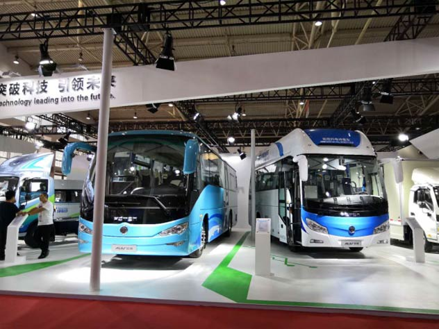 "中国客车绿色发展牵引力 看<font color=red>福田欧辉</font>""领新向氢"""
