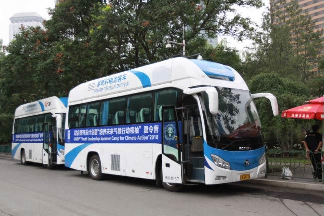 应对气候变化挑战,<font color=red>福田欧辉</font>氢燃料电池客车担当