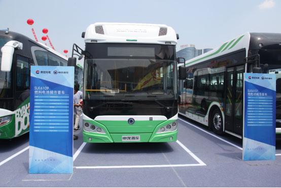 申龙SLK6109氢燃料电池城市客车