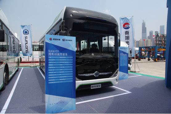 申龙SLK6101纯电动城市客车