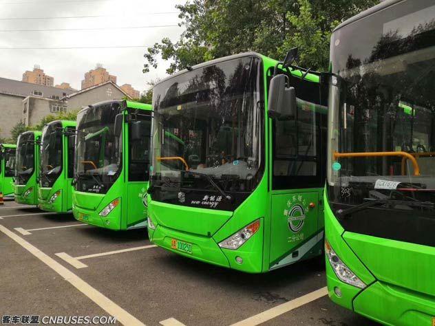 重庆采购的中通电动公交