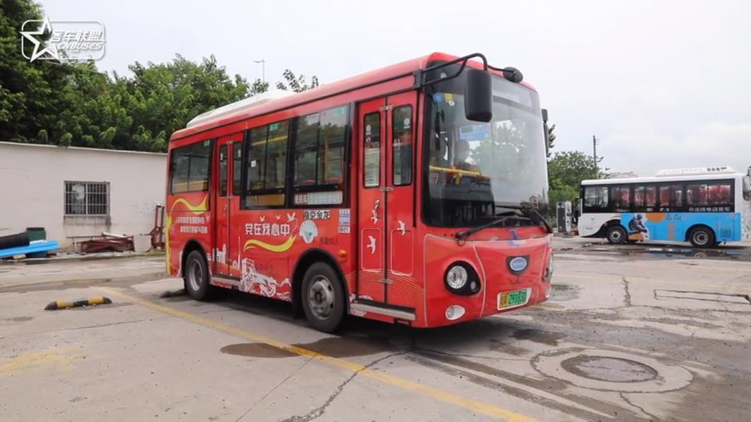 探访广州新穗便民巴士运营状况